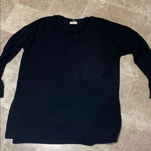 Black lightweight long sleeve